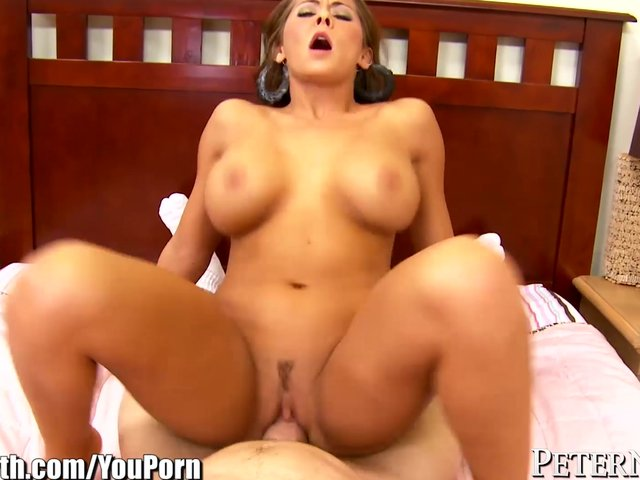Latina Big Tits Riding Dildo