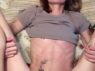 Ugliest oldman fucks anorexic girl in the woods 8