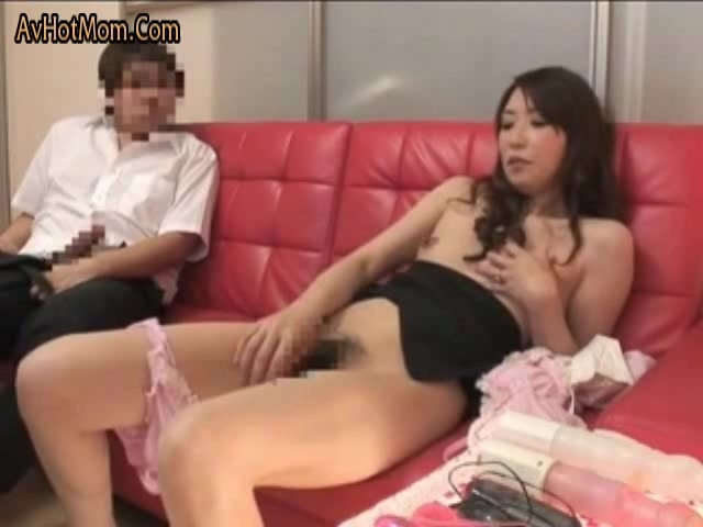 That pussy Mom and son fuck when they watching movie give her