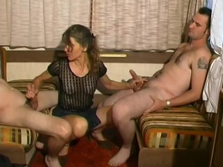 Cocksucking Spitroast video: Hot Anal Threesome And Facial - Telsev