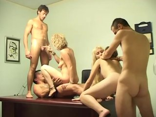Cocksucking Doggystyle video: Let's Have An Orgy - Telsev