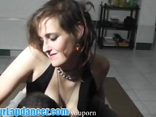 Pov Big Tits Handjob vid: Lapdance and strip by czech beginner