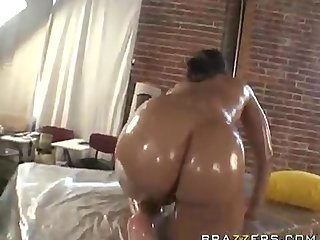 video: oiled fuck