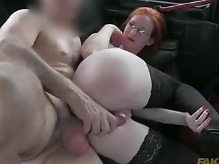 Pale Big Butt Red Head video: zara du rose