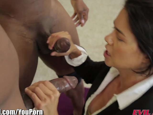 Kyanna lee and keanni lei fuck hard anal with a black guy 2