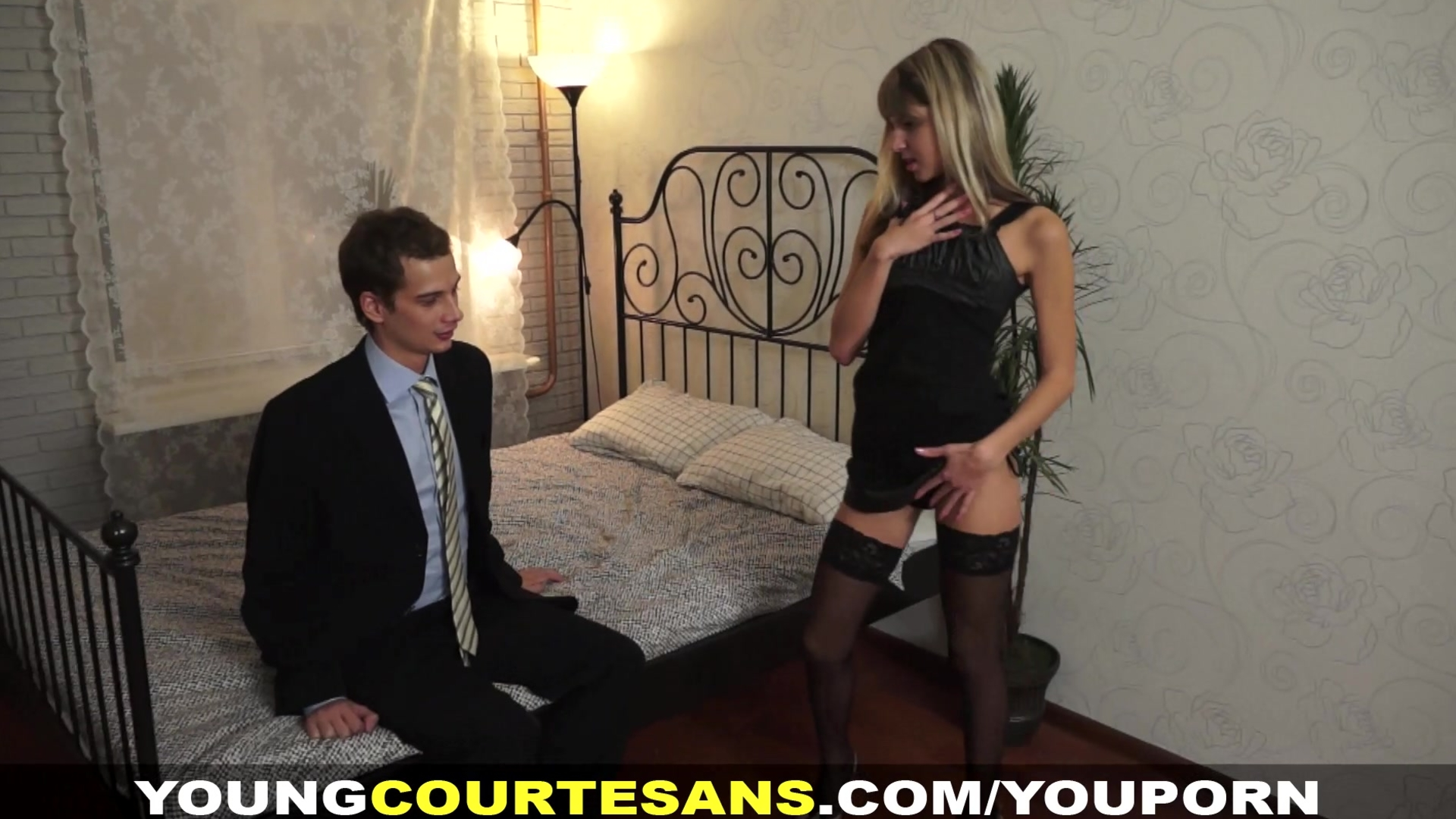 Young Courtesans - Dressed Up For A Client