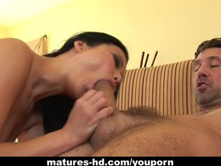 Pornstars Asian Milf video: Asian MILF hottie Niya Yu gets stuffed hard