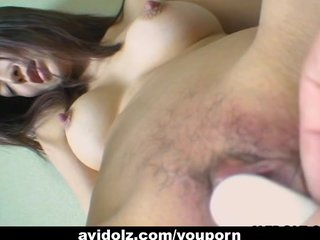 Bigtits Black Blowjob video: Chihiro Asakura is toyed out of her mind uncensored