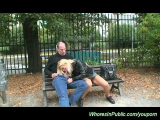 Czech Porn Euro Girls Euro Porn video: public fuck in the park