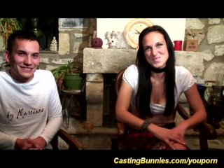 Casting Casting Couch Fake Agent video: young french couple anal casting