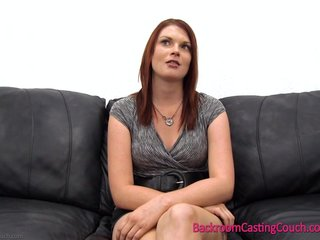 "Redhead Laura Casting - ""Quiet"" Is An Understatement."