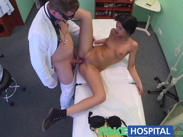 Fakehospital foreign patient with no health insurance pays the pussy price 2