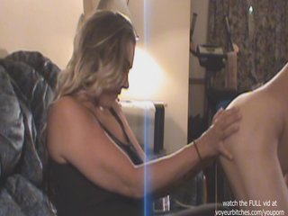 Wanking Milf Cfnm video: milf watches nude male
