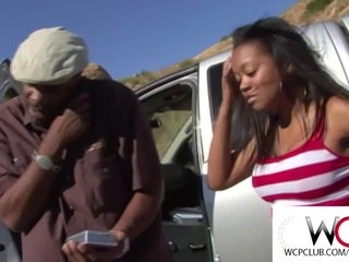 Black Ebony video: West Coast Production Black booty cheating