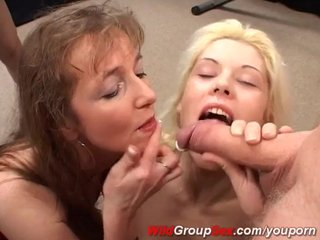 German Gangbang Amateur video: extreme german gangbang
