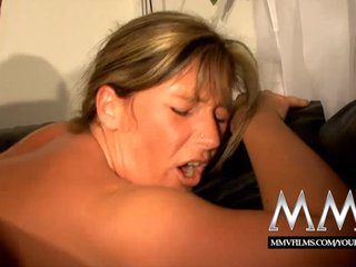 Amateur Blowjob Big Ass video: MMV Films Pierced German mature wife gets fucked