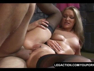 Blonde Fuck Hard video: Hard Anal Fuck For Blonde
