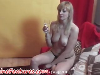 Backstage Behind The Scene Czech video: Amazing backstage time with hot czech MILF