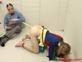 Ass To Mouth Atm Bdsm video: Foolgirl Emma Haize gets hard anal and face fuck in pogo stick bondage