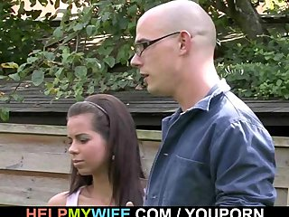 Czech Dad Euro video: Old fart got cuckolded