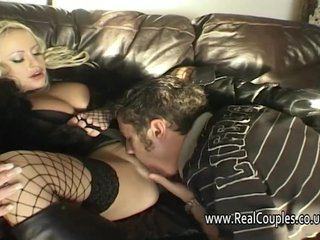 Boots British Couple video: Natalie Heck early anal for real couples