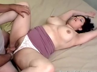 Mia Takes a Hard Cock Inside Of Her Plump Pussy