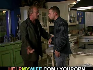 Czech Dad Euro video: Older husband arranges naughty cuckolding