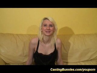 cute french teen casting