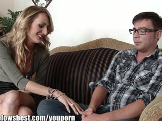 Pornstar Milf Mature video: MommyBB My dad's girlfriend wants my steak