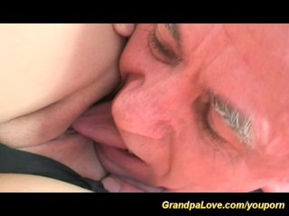 Grandpa Porn Grandpa Teen Porn Grandpalove video: lucky grandpa