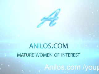 Anilos Ass Dildo video: Anal loving mom dildo fucks her ass