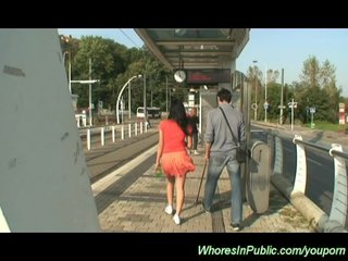 Czech Girls Czech Porn Euro Girls video: horny couple loves public sex