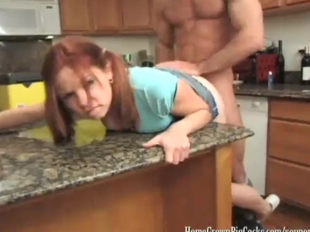 Phoebe gets her plumbing fixed by a big cock 2