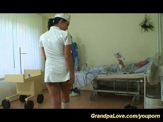 clinic sex for horny grandpa