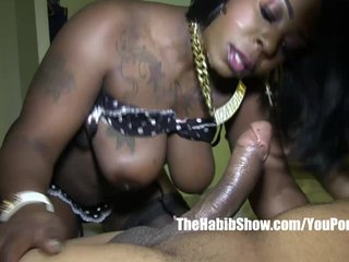 chocolate thicke freak Ferrari Blaque banged by BBC