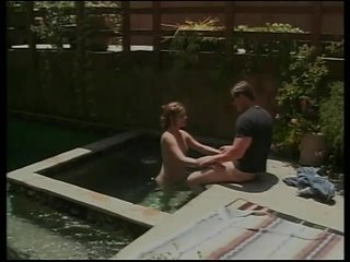 Bubblebutt Reversecowgirl video: Poolside Cock-Sucking And Dick-Riding Session - Acid Rain
