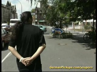 pickup young german teen