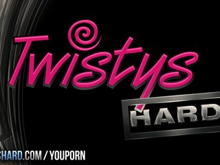 Booty Cum Cumshot video: Twistys Hard - Staci takes a hot load for vday