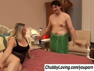 Bustys Chubbys Chunky video: Tasty Tawni is a cute chubby blonde with nice big tits