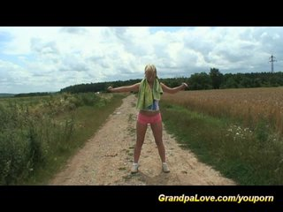 Grandpa Porn Grandpa Teen Porn Grandpalove video: old and young in nature